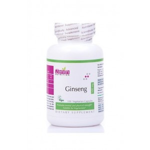 Zenith Nutrition Ginseng 500mg - 100 Capsules