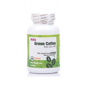 Zenith Nutrition Green Coffee bean extract 400 mg 60 capsules