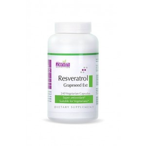 Zenith Nutrition Resveratrol 100mg  Grape Seed Ext - 240 Capsules