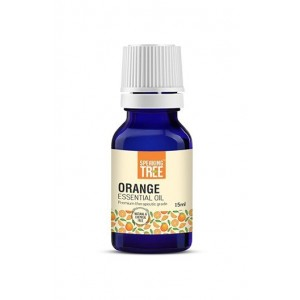 Speaking Tree - 100% Pure, Natural & Cold pressed Orange Essential Oil - 15ml