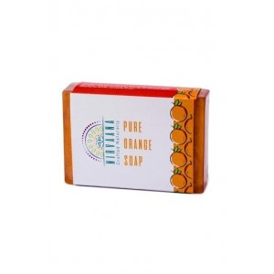 Nirvaana Handmade Orange Soap
