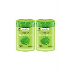 Zindagi Moringa Herbal Infusion - Sugarfree Health Drink - Natural Fruit Juice (Pack Of 2)