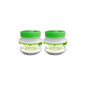 Zindagi Stevia White Powder - Sugarfree Stevia Leaves Powder - Pure Stevia Extract (Pack Of 2)