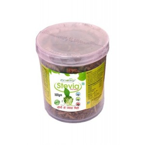 Zindagi Dry Stevia Leaves - Sugarfree Stevia Leaves - Weight Loss Leaves 100gm