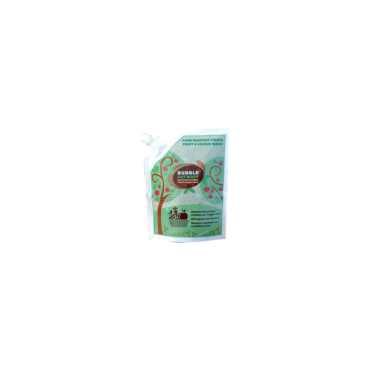 Bubblenut Wash Natural Fruit & Veggie Wash