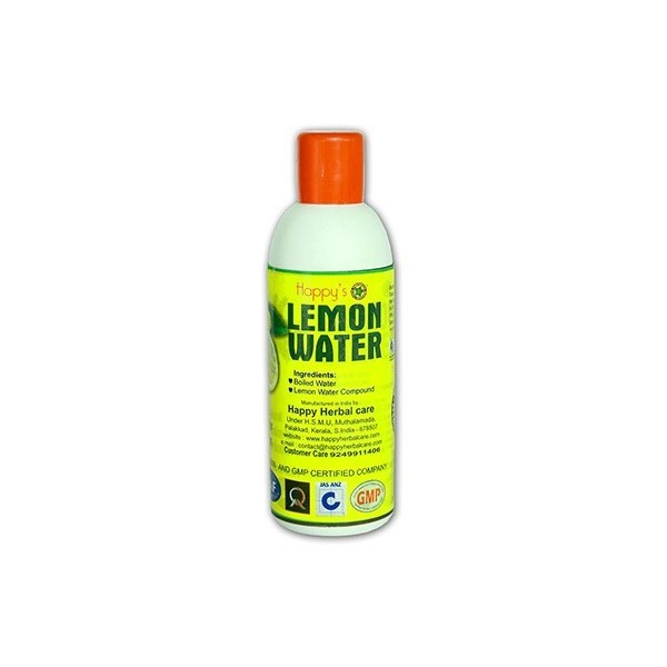 Happy herbal care Lemon Water 200ml