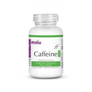 Zenith Nutrition Caffeine Capsules- 200Mg- For Energy & Focus