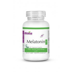 Zenith Nutrition Melatonin 3mg 60 capsules
