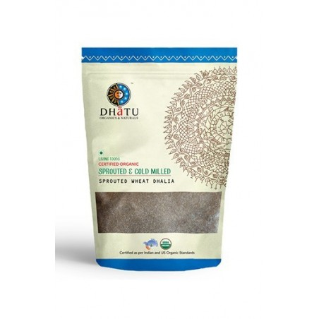 Dhatu Organics Sprouted Wheat Dhalia