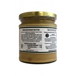Dhatu Organics Sprouted Peanut Butter