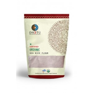 Dhatu Organics Red Rice Flour - Stone Ground