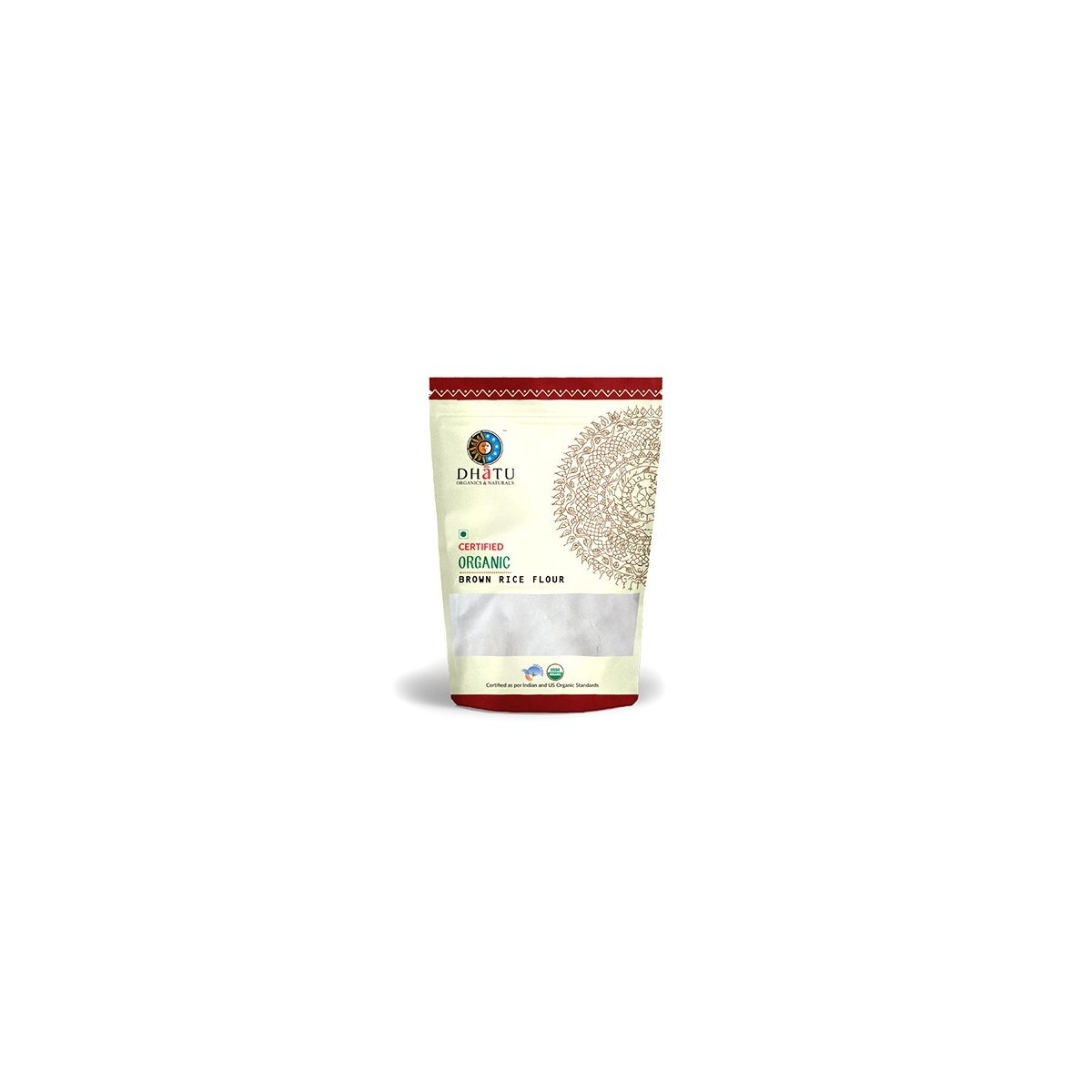 Dhatu Organics Brown Rice Flour - Stone Ground