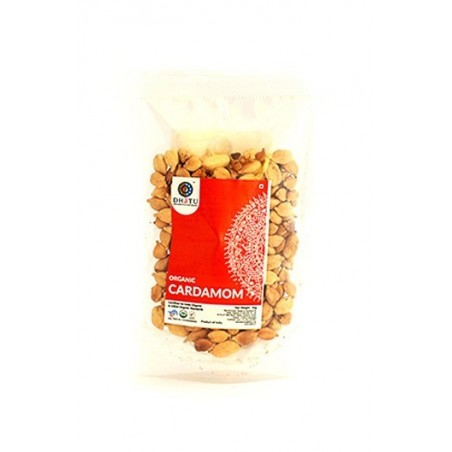 Dhatu Organics Organic Cardamom Whole Green