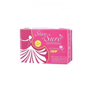 Stay Sure Sanitary Napkin - COMFORT 32cm with wings