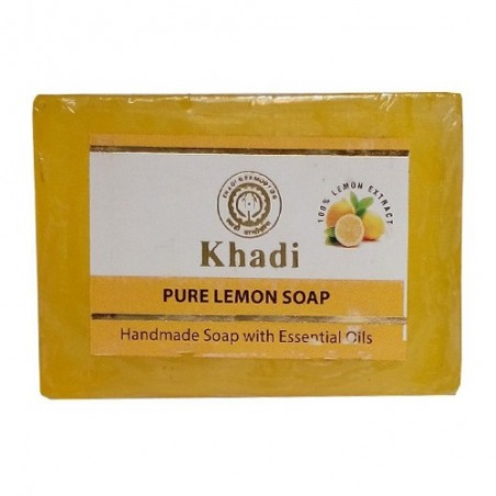Khadi Lemon Soap  125grams