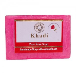 Khadi Rose Water Soap  125grams