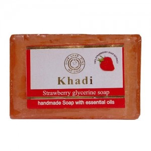Khadi Strawberry Soap  125grams