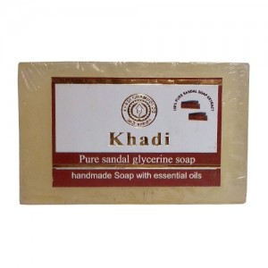 Khadi Sandal Soap  125grams