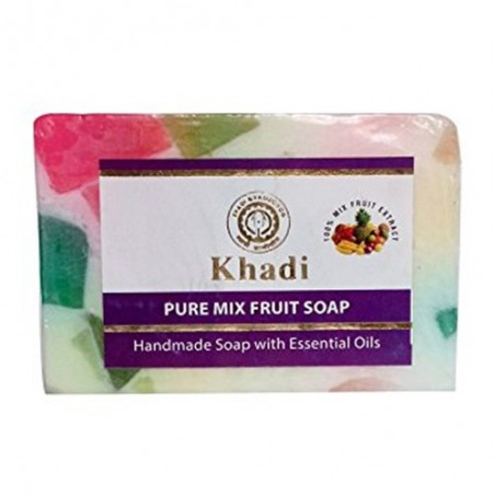 Khadi Mix Fruit Soap  125grams