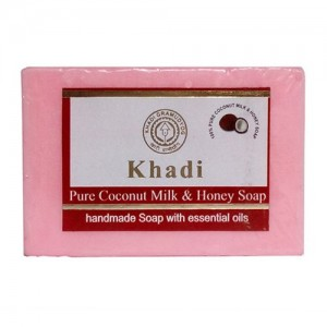 Khadi Coco-Milk Honey Soap  125grams