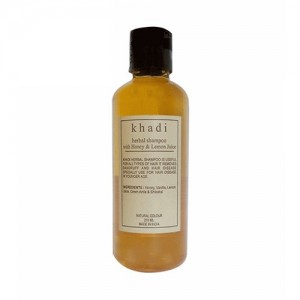Khadi Honey Lemon Juice Shampoo 210ml