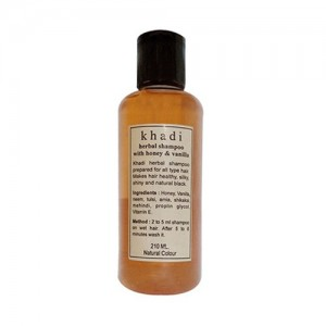 Khadi Honey Vanilla Shampoo 210ml