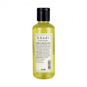 Khadi Saffron Tulsi Extra Conditioner Shampoo 210ml