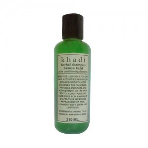 Khadi Heena Tulsi Extra Conditioner Shampoo 210ml