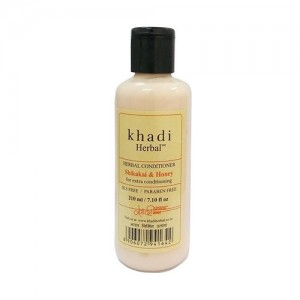 Khadi Shikakai & Honey Conditioner SLS & Paraben Free 210ml