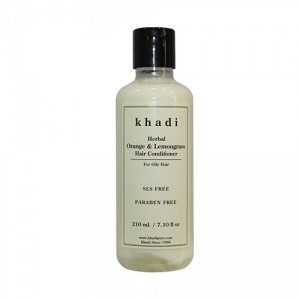 Khadi Orange Lemongrass Conditioner SLS & PARABEN Free 210ml