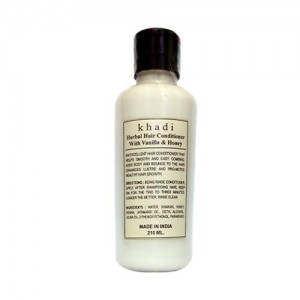 khadi Vanilla & Honey conditioner 210ml
