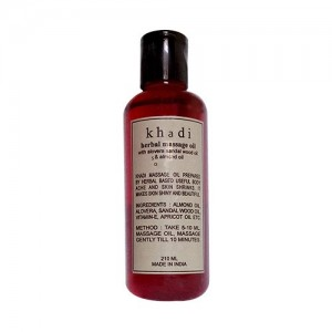 khadi Sandal Wood Massage Oil 210ml
