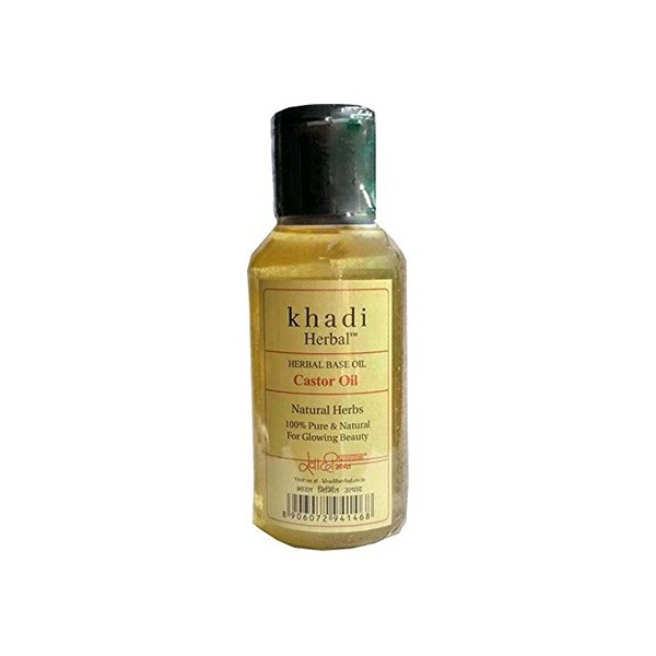 Khadi Castor Oil 100ml Pure And Natural Herbal Ayurvedic