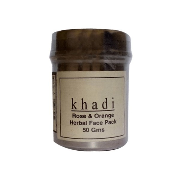 Khadi Rose And Orange Face Pack 50grams