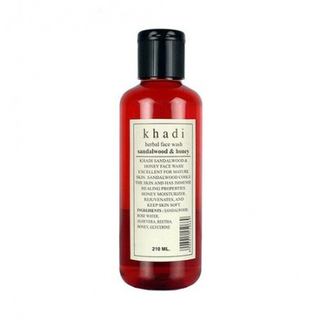 Khadi Sandal Face Wash 210ml