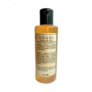 Khadi Orange Body Wash 210ml