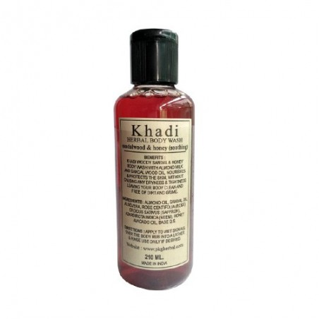Khadi Sandal Body Wash 210ml
