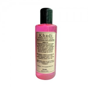 Khadi Rose Body Wash 210ml