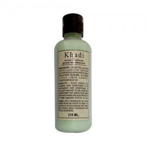 khadi Green Tea Alovera hair conditioner 210ml