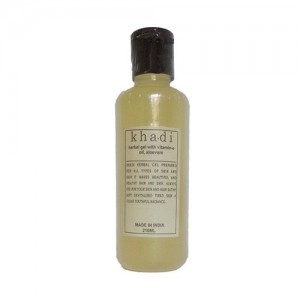 khadi Herbal Gel With Vitamin E Oil Alovera 210ml