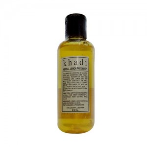 Khadi Lemon Face Wash 210ml