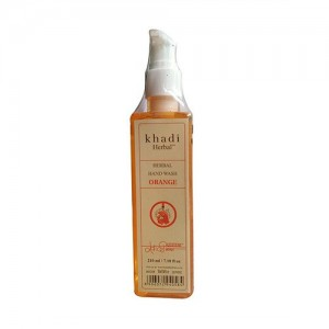 Khadi Orange Hand Wash 210ml