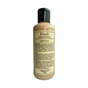 Khadi Gold Scrub (With Rose) 210ml