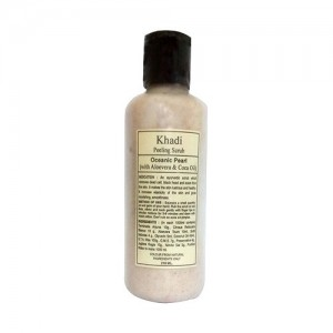 Khadi Peeling Scrub, Oceanic Perl (With Alovera Coca Oil) 210ml