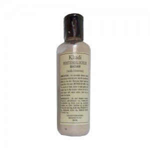 Khadi Whitening Scrub Badam (With Alovera) 210ml