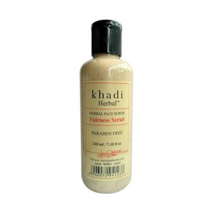 khadi fairness scrub 210ml