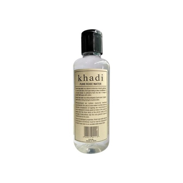 Khadi Pure Rose Water 210ml