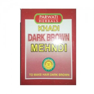 Khadi Dark Brown Mehandi 75grams