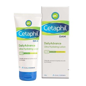 Cetaphil Dam Daily advanvce ultra hydrating lotion (30Gm)
