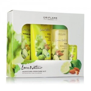 Oriflame Love Nature Manicure Pedicure Kit - 34416